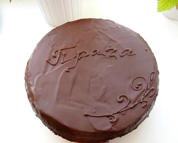 Классические торты торт прага